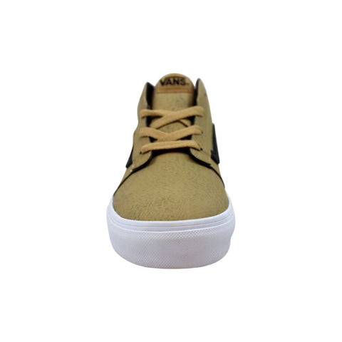 Vans Chapman Mid Tan/True White Leather VN0A38J4ONV Pre-School