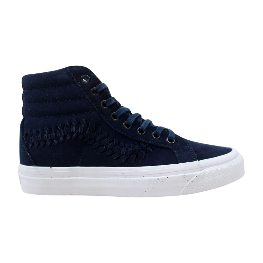 Vans SK8-Hi Weave DX Suede Dress Blue  VN0A3DPRLFU Men's
