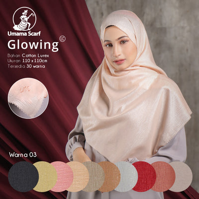 Glowing Lc - Seri Warna isi 10pcs