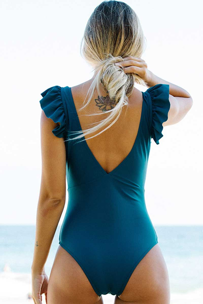 Sweet Ruffle One Piece Swimsuit