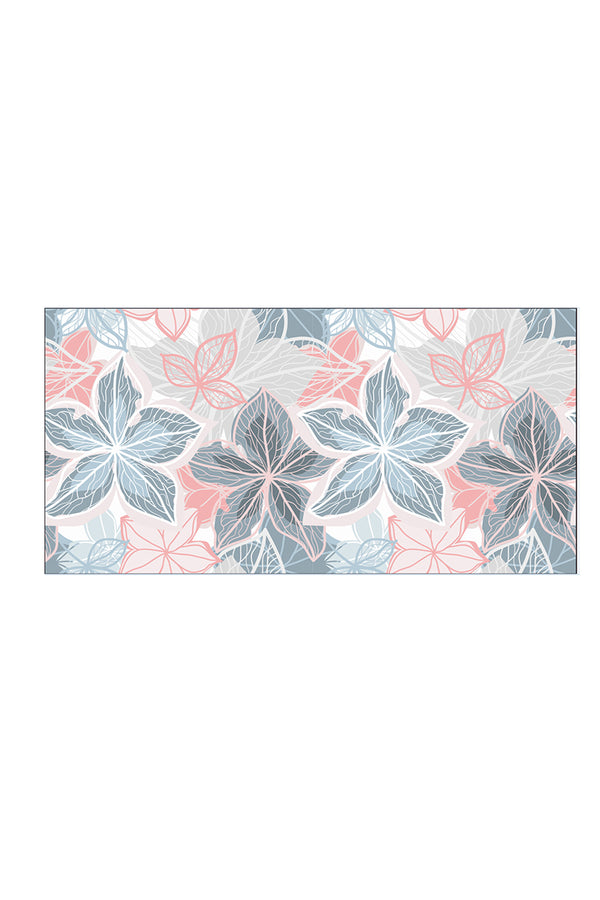 CupNami Skin-Friendly Floral Oblong Beach Towel