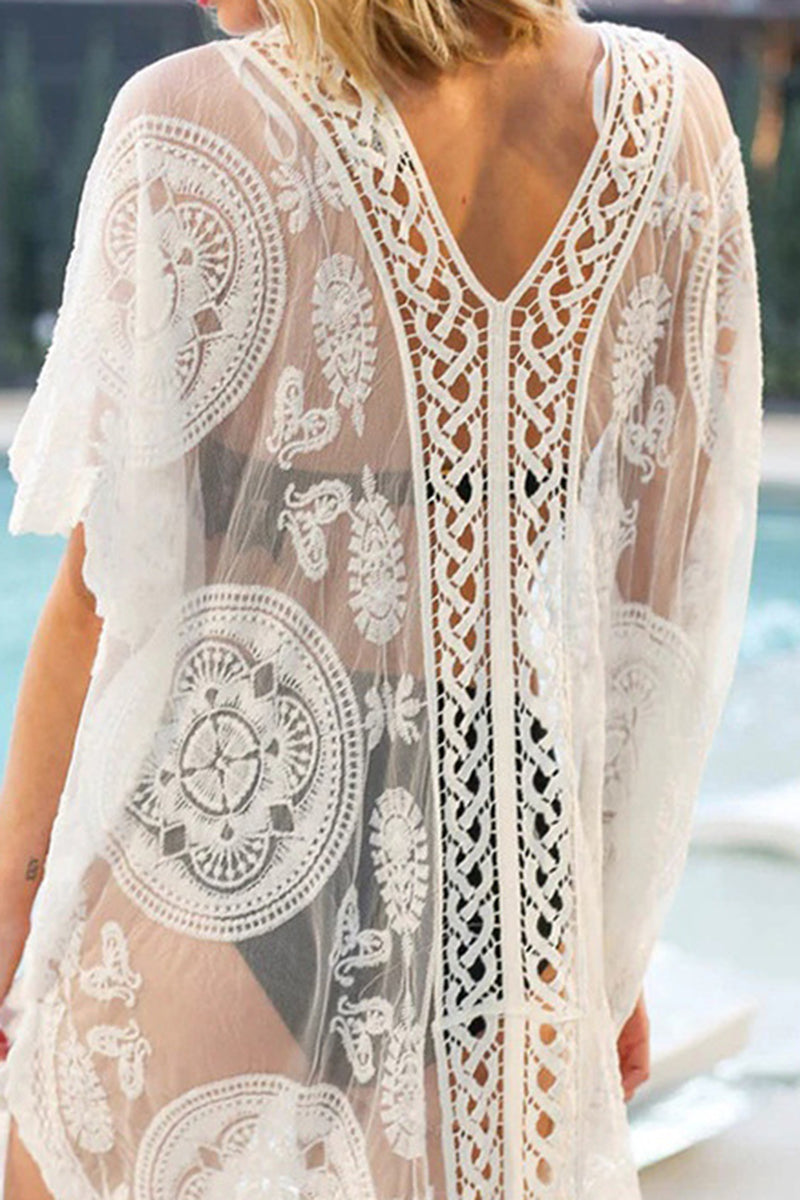 CupNami Bohemia Lace Cover Up