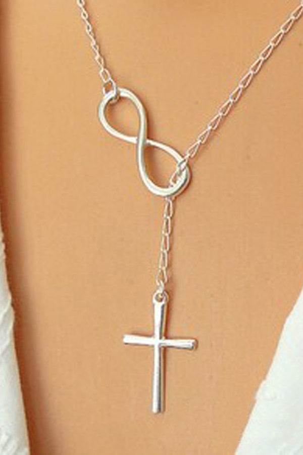 CupNami Alloy Cross Necklace