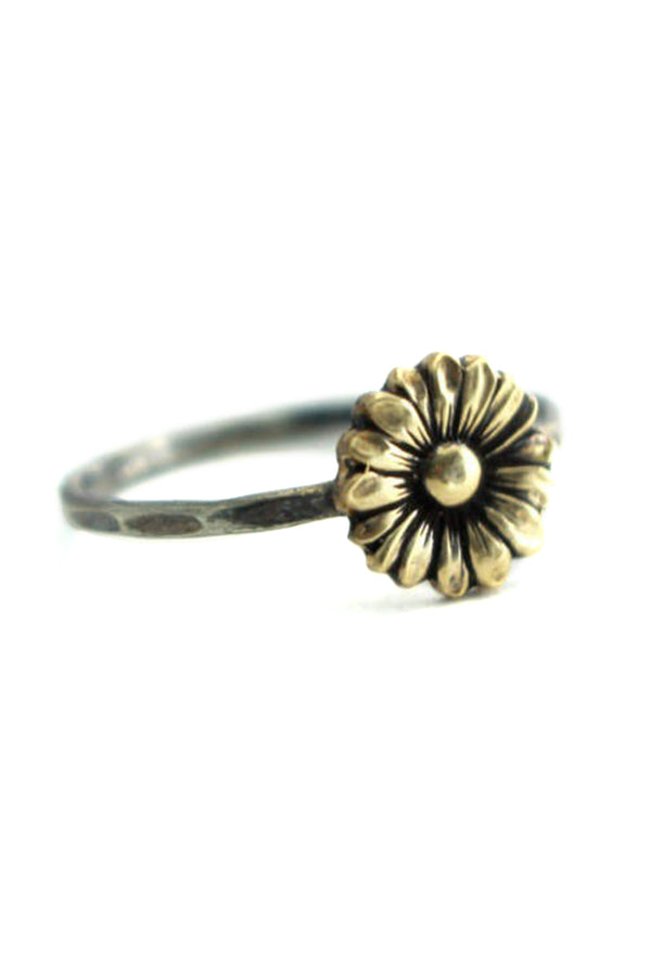 CupNami Sunflower 18K Gold Plated Rings