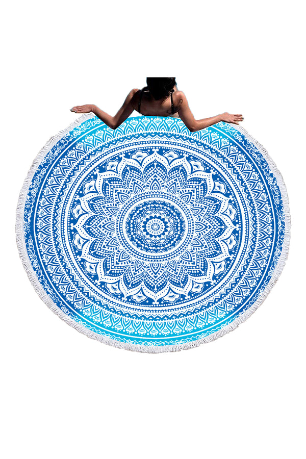 CupNami Soft Sand Free Printed Beach Towel