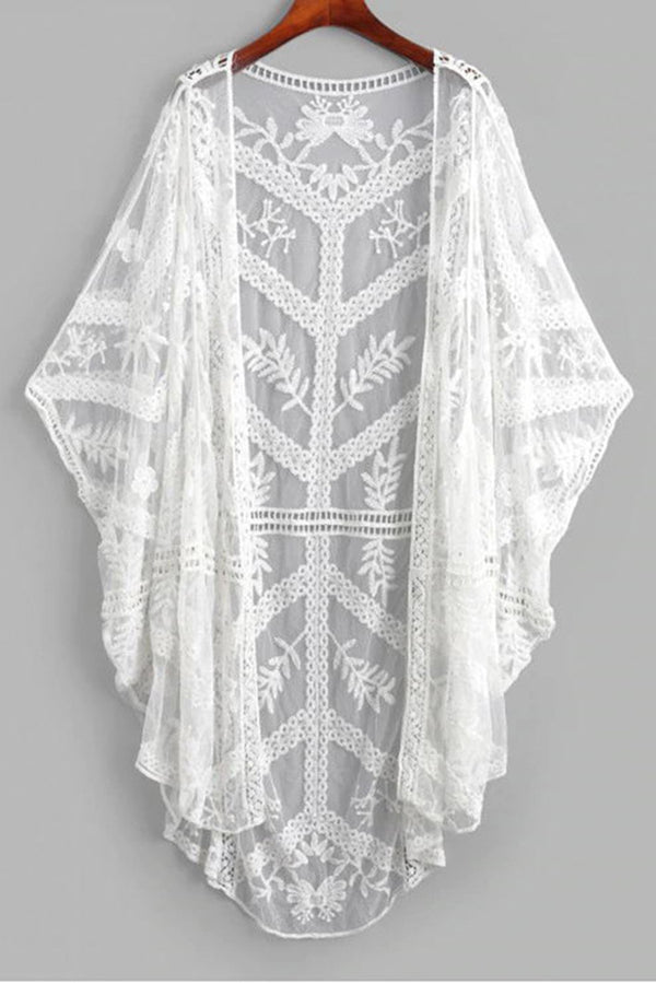 CupNami Lace Crochet Cover Up