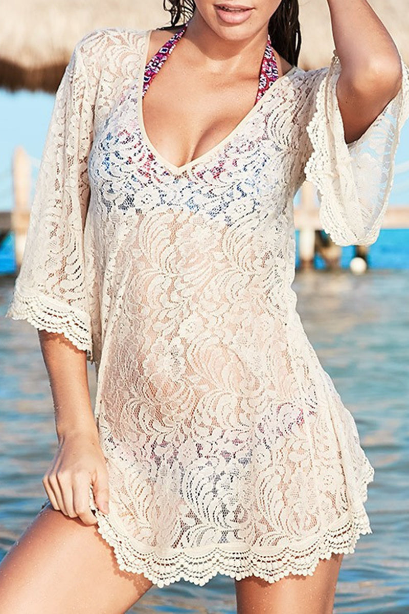 CupNami Bohemia V-Neck Cover Up