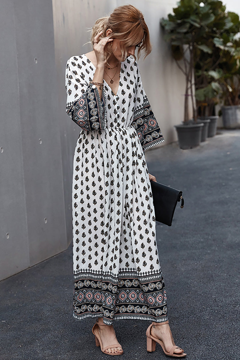 CupNami Bohemia Long Loose Dress