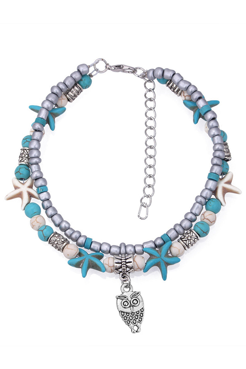 CupNami Double Starfish Anklet
