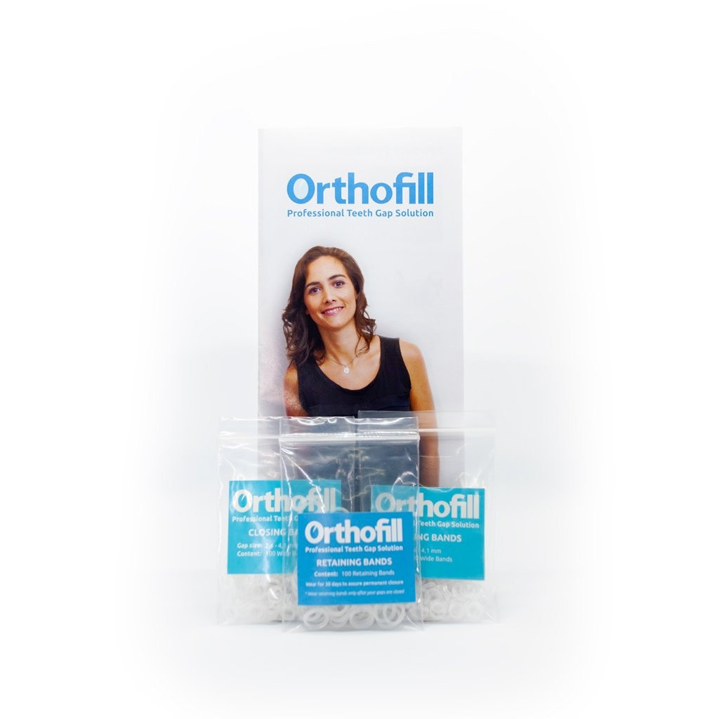 Orthofill Multiple Gap Package - Guaranteed to Close Your Teeth Gaps Permanently