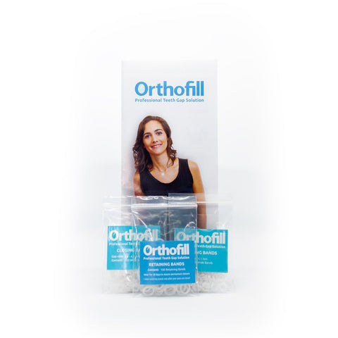 Orthofill Multiple Gap Package - Guaranteed to Close Your Teeth Gaps Permanently - Orthofill Dental Care