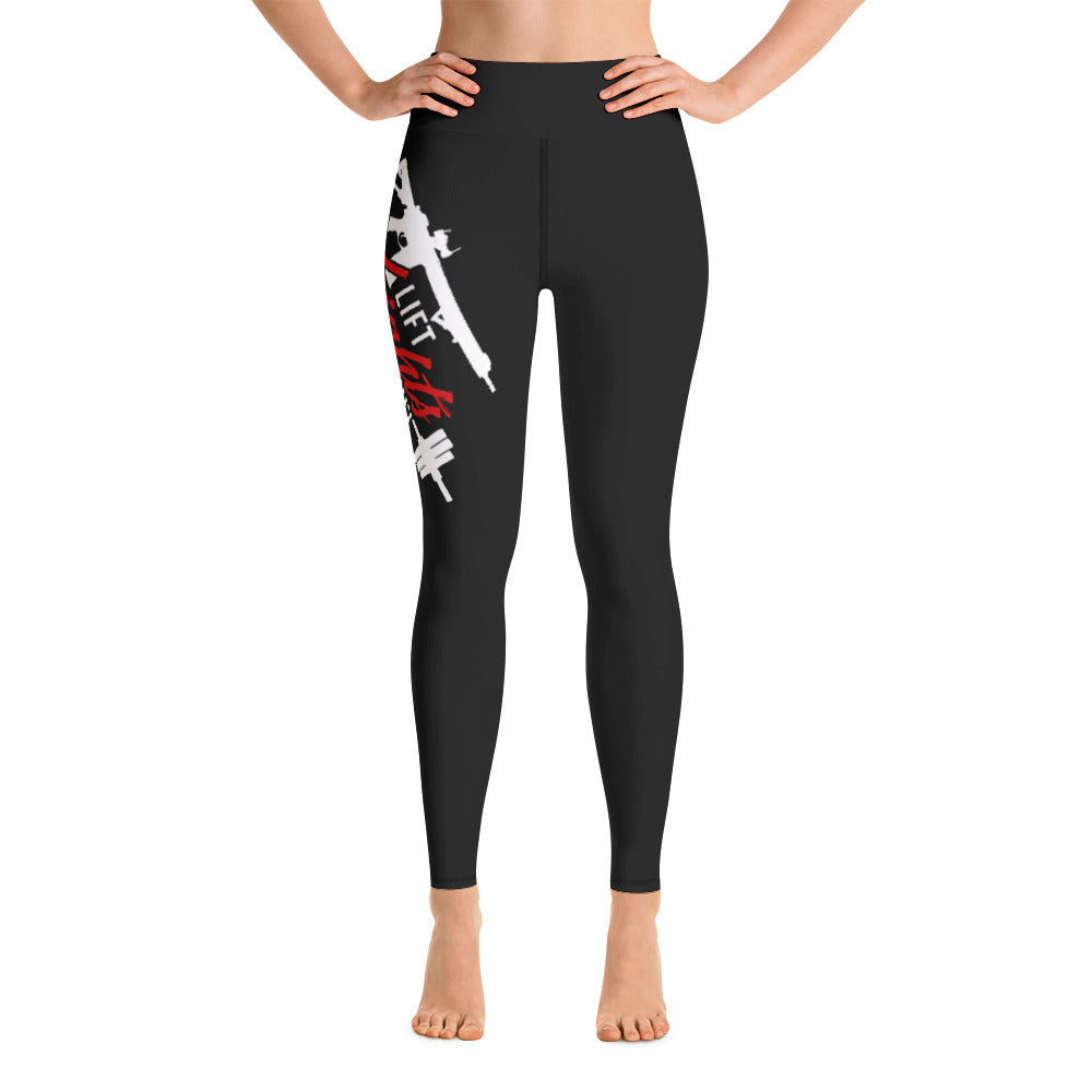 Weights and Triggers Yoga Leggings