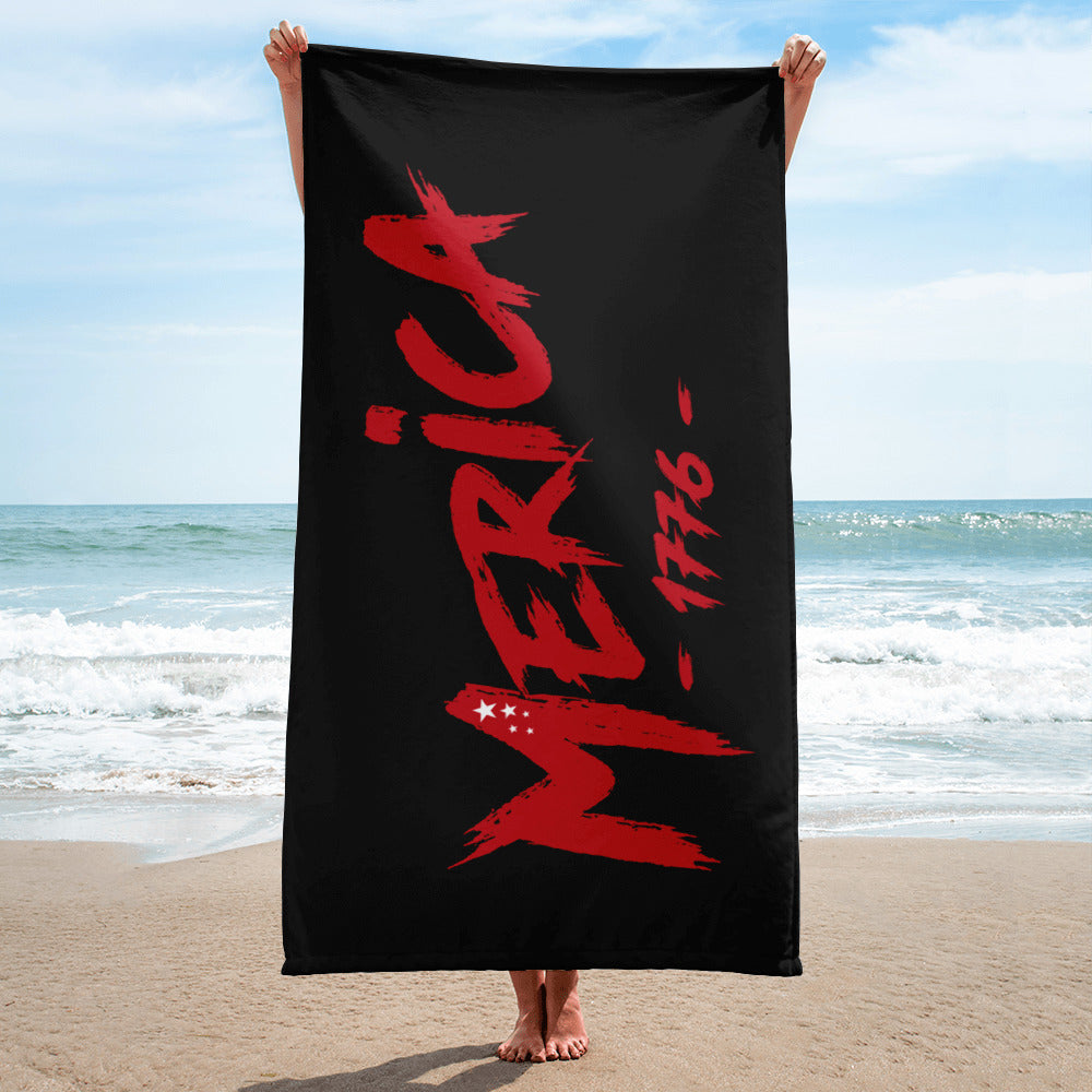 Merica! Beach Towel