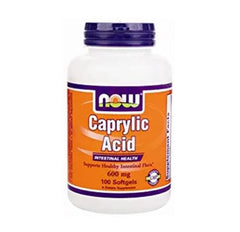 Caprylic Acid 600 mg (100 Softgels)