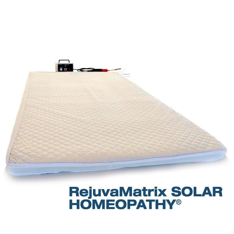 RejuvaMatrix(R) Solar Homeopathy Mattress and Tesla Coil