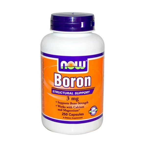NOW Boron 3mg (250 Capsules)