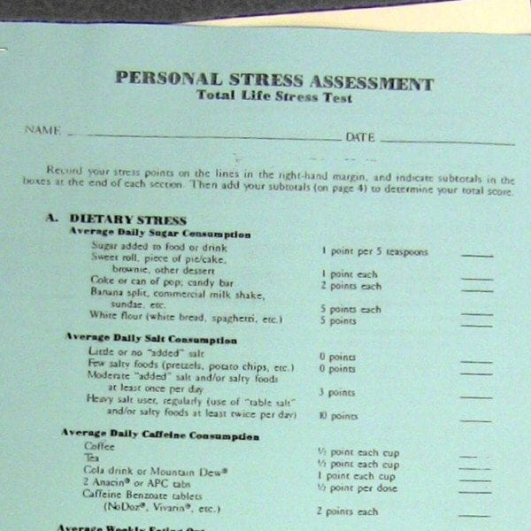 Total Life Stress Test and Symptom Index 1 copy