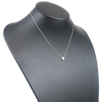 Tiffany&Co. Sentimental Heart 3P Diamond Necklace Platinum-dct-ep_vintage luxury Store