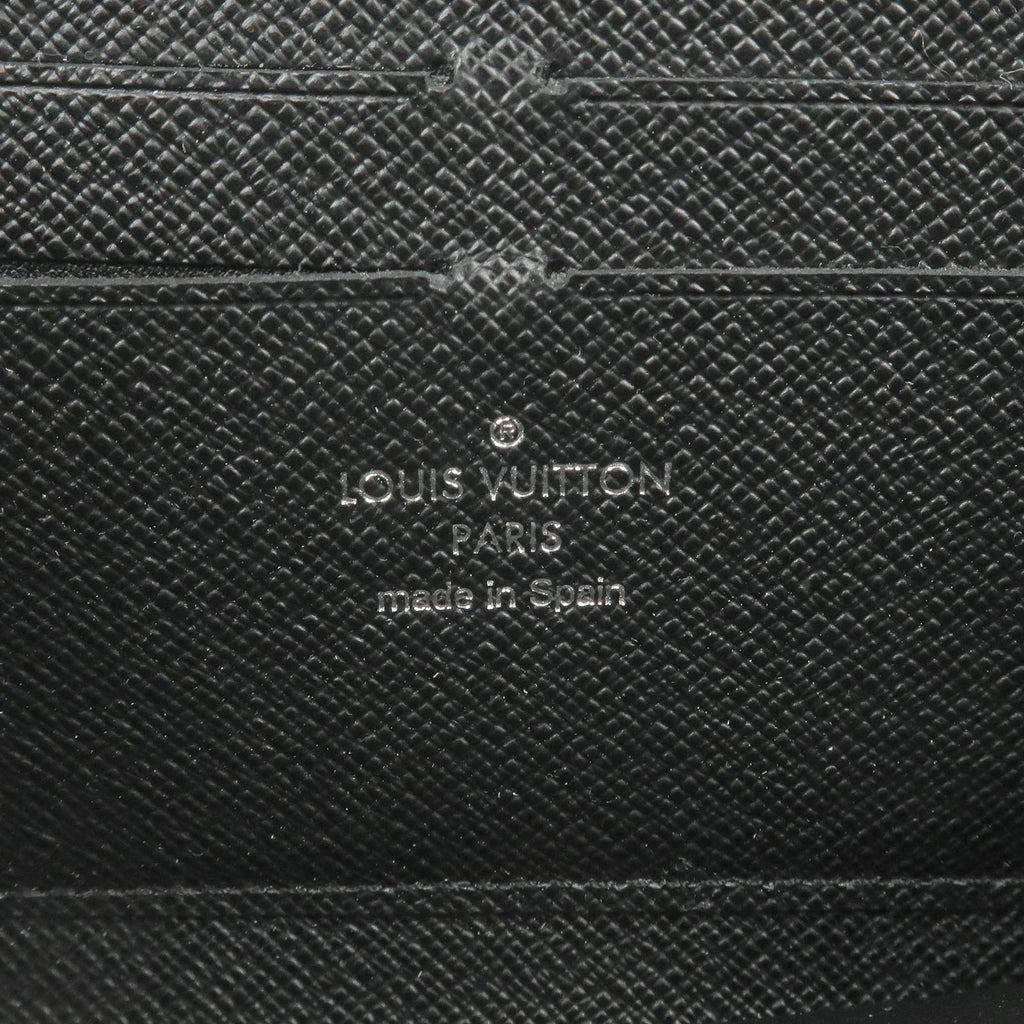 Louis Vuitton Epi Zippy Wallet Zip Around Long Wallet Black M60072-dct-ep_vintage luxury Store