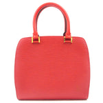 Louis Vuitton Epi Ponneuf Hand Bag Castilian Red M52057