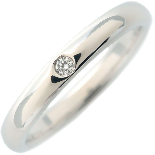 Tiffany&Co.-Stacking-Band-Ring-1P-Diamond-PT950-US6.5-EU53