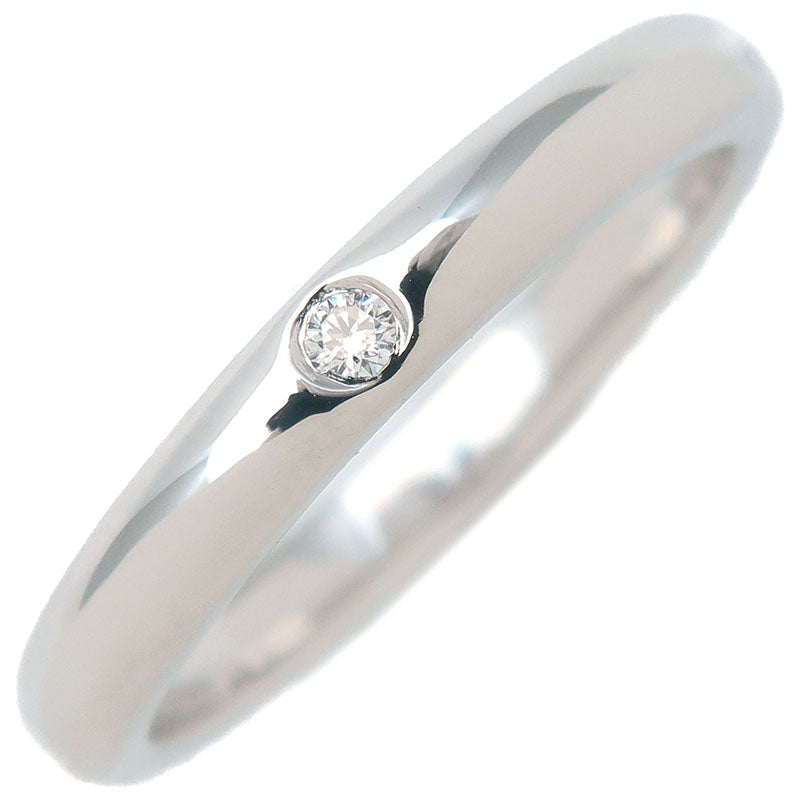 Tiffany&Co.-Stacking-Band-Ring-1P-Diamond-Platinum-US5.5