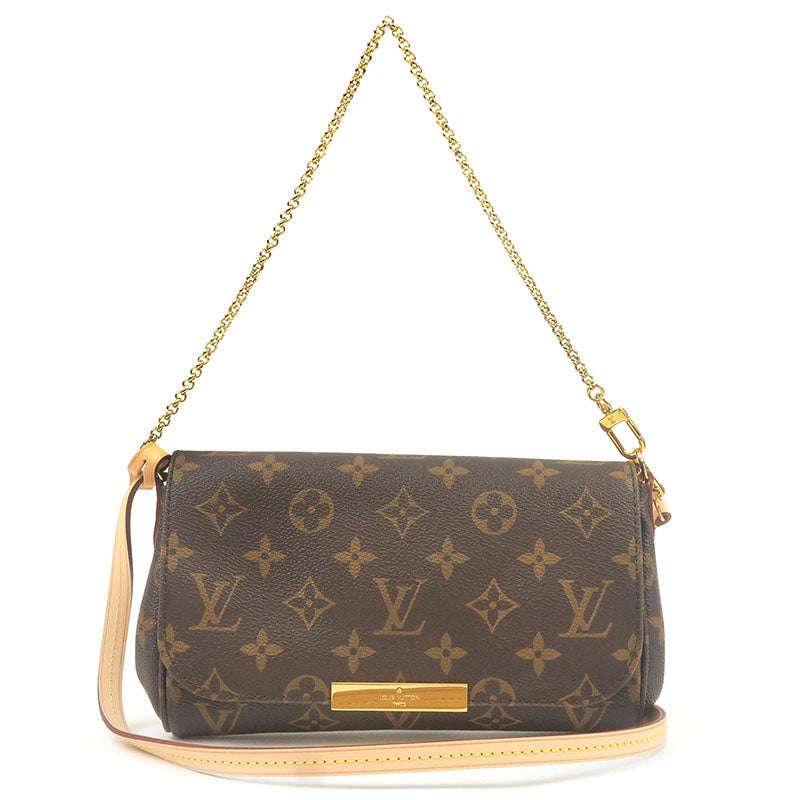Louis-Vuitton-Monogram-Favorite-PM-2Way-Shoulder-Bag-M40717