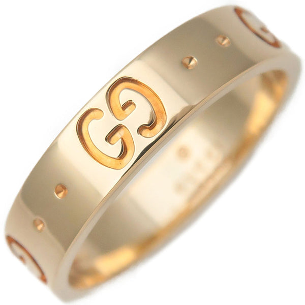 GUCCI-ICON-Ring-K18-YG-750-Yellow-Gold-#10-US5-5.5-HK11-EU50