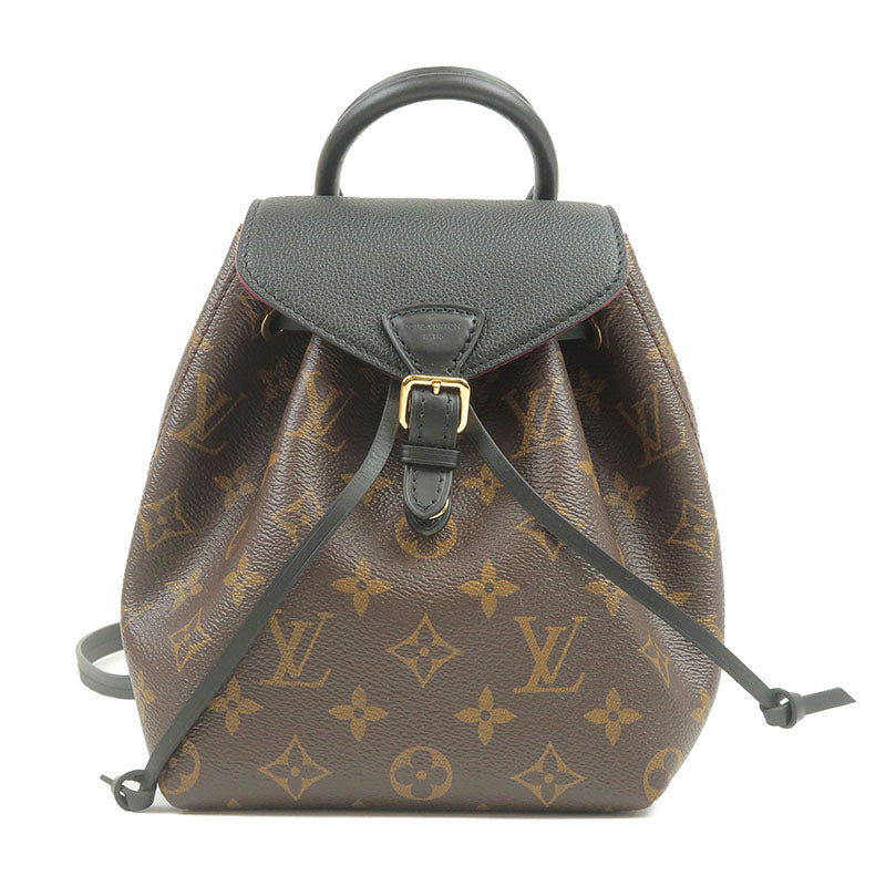 Louis-Vuitton-Monogram-Montsouris-NM-BB-Back-Pack-Noir-M45516