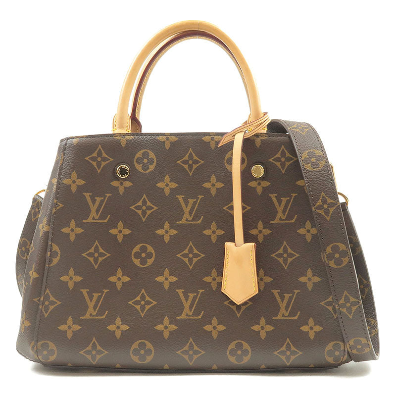 Louis-Vuitton-Monogram-Montaigne-BB-2Way-Bag-Hand-Bag-M41055