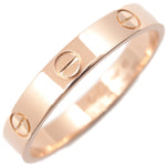 Cartier Mini Love Ring K18 Rose Gold #63 US10.5 HK23.5 EU63.5