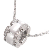 CHANEL Ultra Collection Diamond Necklace White Ceramic K18WG-dct-ep_vintage luxury Store