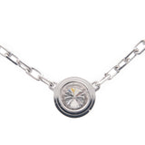 Cartier Diamants Légers Necklace SM 1P Diamond 0.09ct K18WG-dct-ep_vintage luxury Store