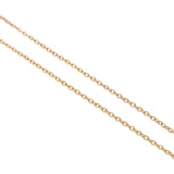 Tiffany&Co. elsa peretti Mini Beans Necklace K18 750 Yellow Gold-dct-ep_vintage luxury Store