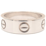 Cartier Love Ring 18K White Gold #50 US5-5.5 HK11.5 EU50