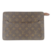 Louis-Vuitton-Monogram-Pochette-Homme-Clutch-Bag-M51795