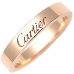 Cartier-Engraved-Ring-K18-Rose-Gold-#48-US4.5-HK9.5-10