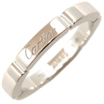 Cartier maillon panthère Ring K18 White Gold #49 US5 EU49