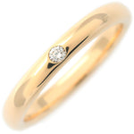 Tiffany&Co.-Stacking-Band-Ring-1P-Diamond-Yellow-Gold-US5