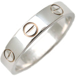 Cartier-Mini-Love-Ring-K18-750-White-Gold-#49-US5-EU49-49.5