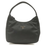PRADA Nylon Purse Pouch Hand Bag Shoulder Bag Black