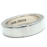 Chrome Hearts Spacer Ring 6mm Silver 925 US8.5-9 HK19.5 EU59