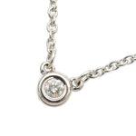 Tiffany&Co.-By-the-Yard-1P-Diamond-Necklace-0.03ct-925-Silver