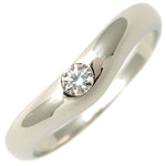BVLGARI-Corona-Band-Ring-1P-Diamond-PT950-Platinum-US4.5-EU48