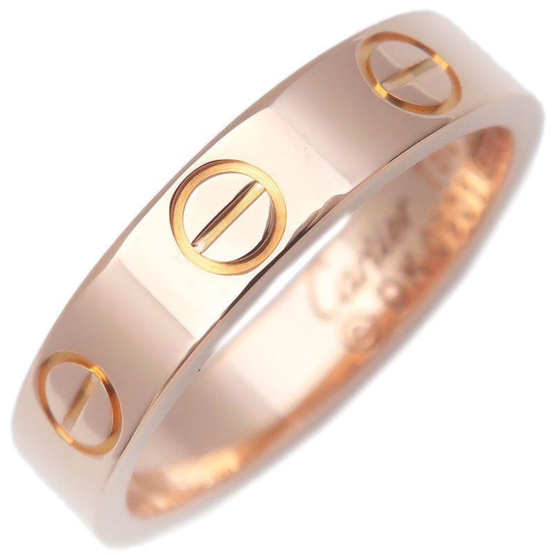 Cartier-Mini-Love-Ring-K18-750-Rose-Gold-#46-US4-HK8-EU46