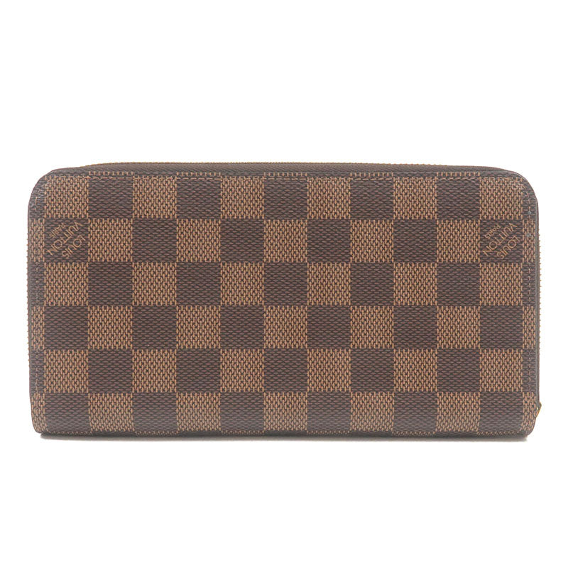 Louis-Vuitton-Damier-Zippy-Wallet-RoundZip-Long-Wallet-N41661