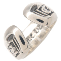Chrome Hearts Scroll Label Ring Small Silver US7 HK15.5 EU55-dct-ep_vintage luxury Store
