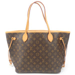 Authentic Louis Vuitton Monogram Neverfull MM Tote Bag Fuchsia M40996