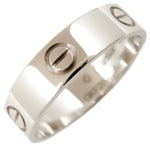 Cartier Love Ring K18 750 White Gold #62 US10-10.5 EU62.5-63