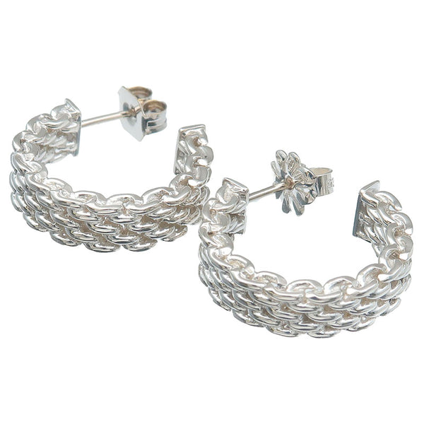 Tiffany&Co.-Somerset-Hoop-Earrings-SV925-Silver
